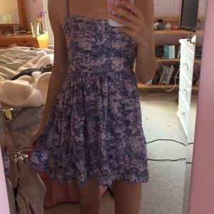 Forever 21 Purple Floral Dress